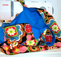 Getting Started with your Sewing Machine – Tote bag and Zippy bag