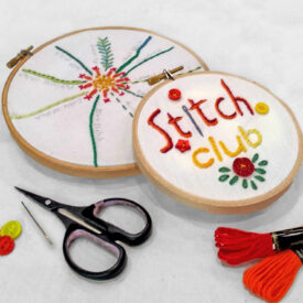Hand Embroidery : A relaxing afternoon of making