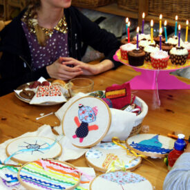 Stitch Parties and Celebrations